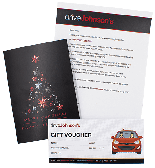 Driving Lesson Vouchers For All Occasions Drivejohnson S