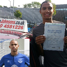 Testimonial photo of Brendan Galloway - Everton and England Under 21 Footballer