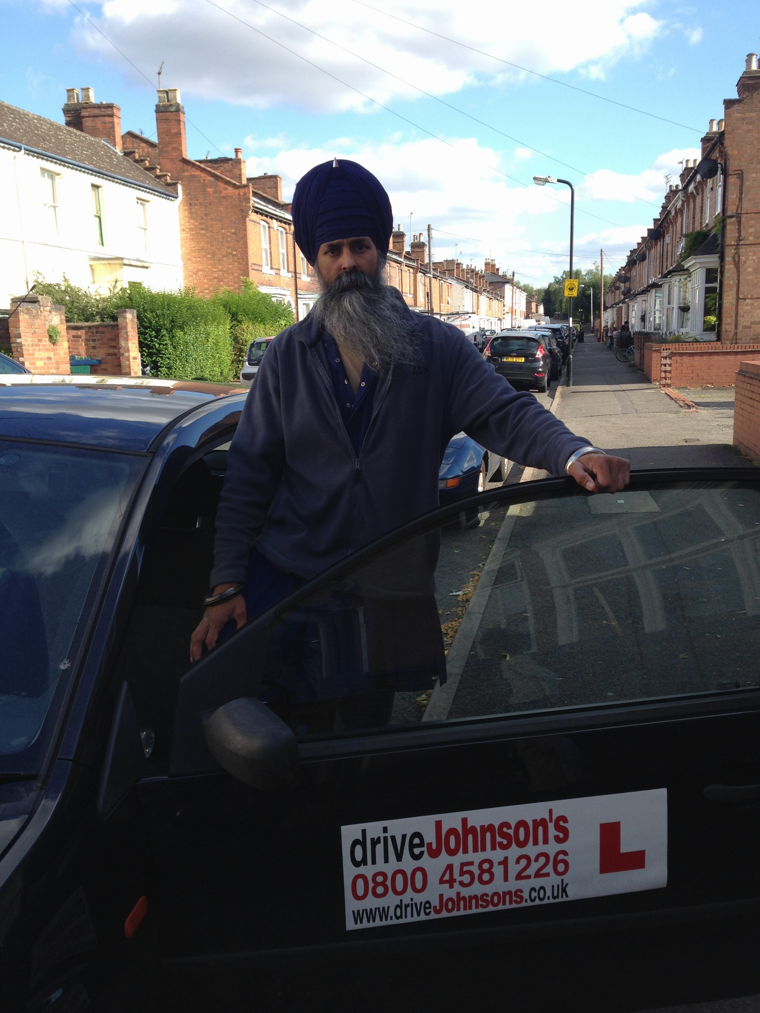 Partap driving instructor