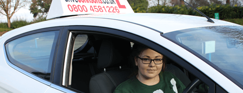Molly Stevens Under 17 Driving Course