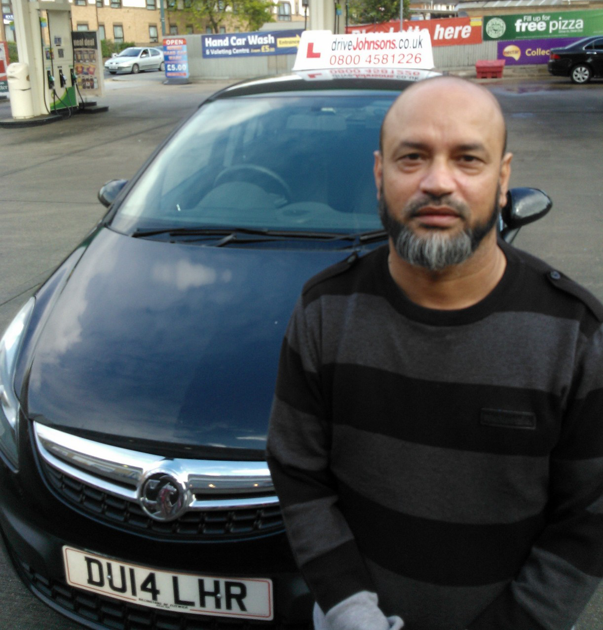 ahmad abdul and car in london
