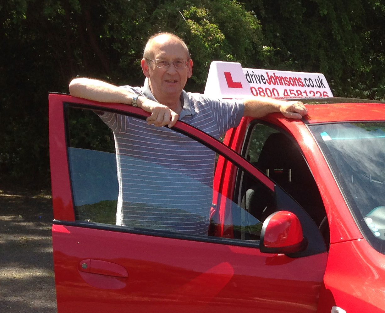 Ray peverall milton keynes instructor and car