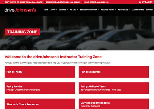 Driving Instructor Training Zone