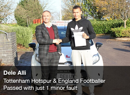 Dele Alli Passes Driving Test