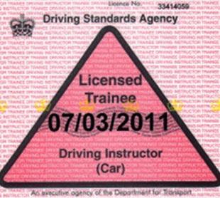 ADI Trainee Licence