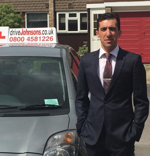 Nisar Ahmadi Driving Instructor