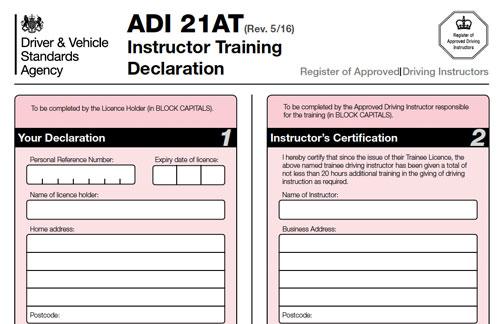 Pdi Trainee Licence Drivejohnson S