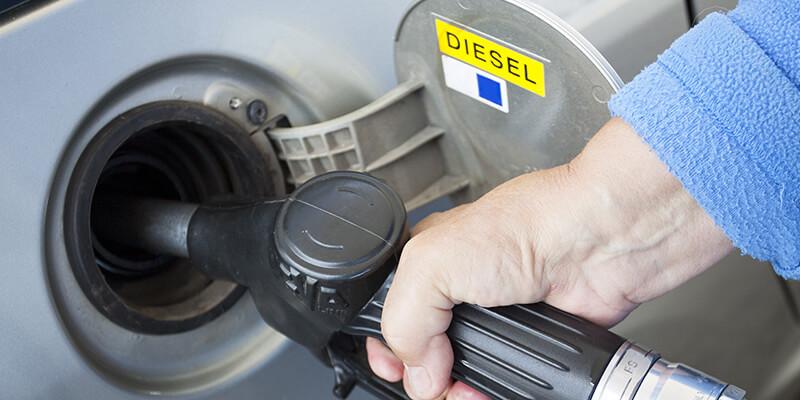 Diesel Car Fuelling Station