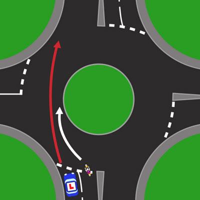 Roundabout Lane Discipline