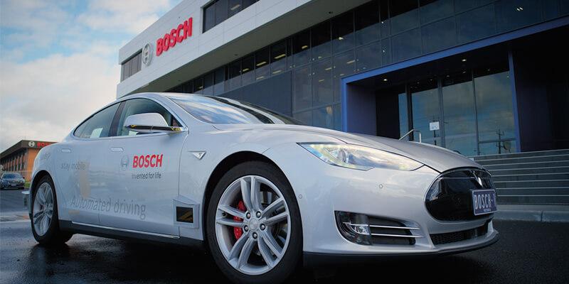 Bosch driverless vehicle
