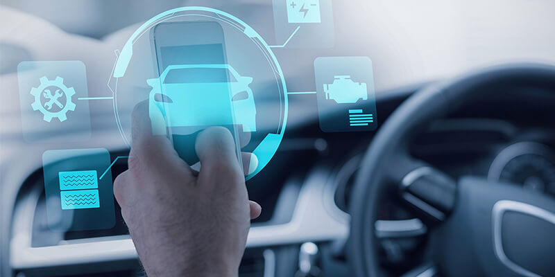 driverless vehicle app