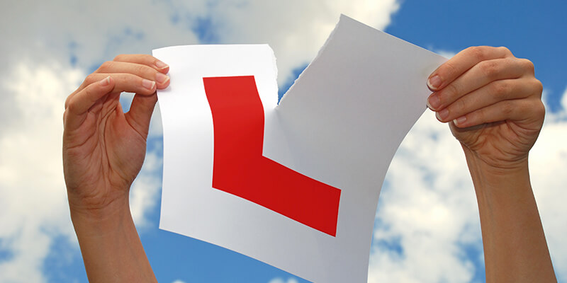 Ripped L Plate