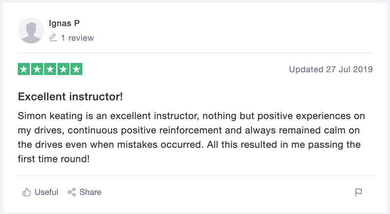 Simon Keating Review Screenshot